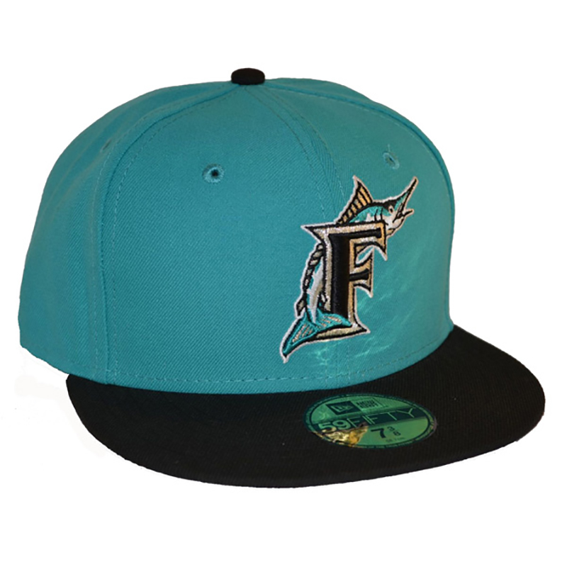 382c626619db4 Florida Marlins 1996 Road Hat - Mickey s Place