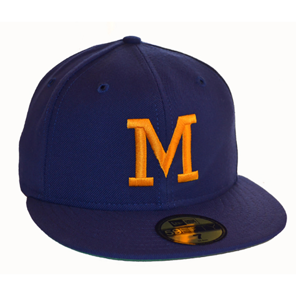 4cafda491dfb09 Milwaukee Brewers 1970-1977 Home Hat - Mickey's Place