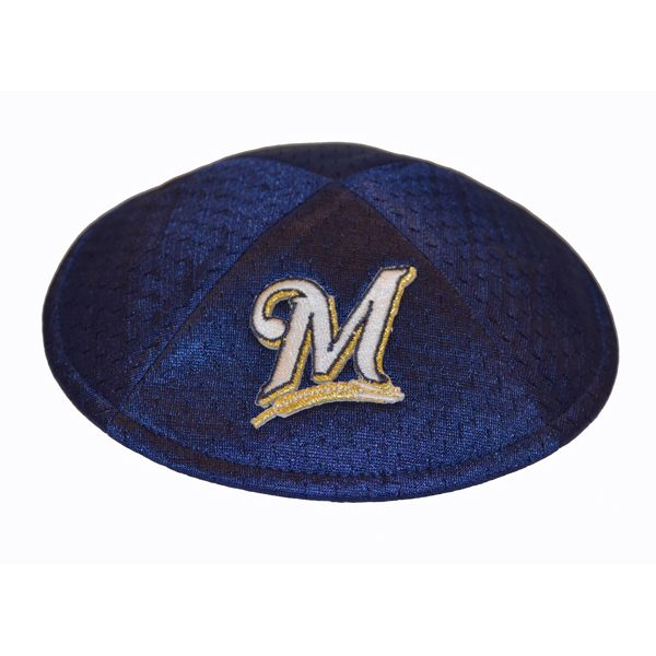 Kippah- Milwaukee Brewers