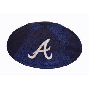 Kippah- Atlanta Braves