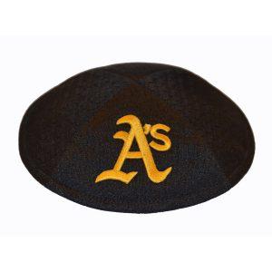 Kippah- Oakland Athletics