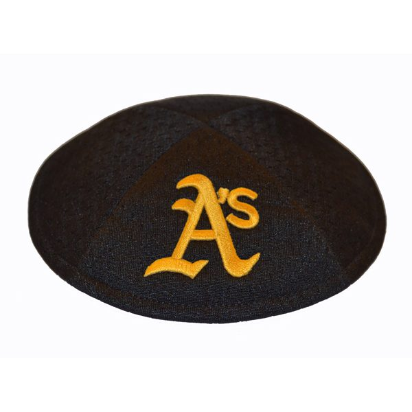 Kippah- Oakland Athletics