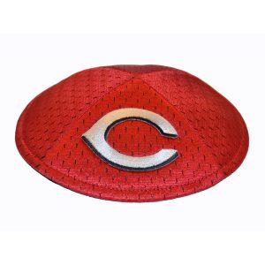 Kippah- Cincinnati Reds