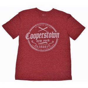 Men's Cooperstown Crossed Bats Tee