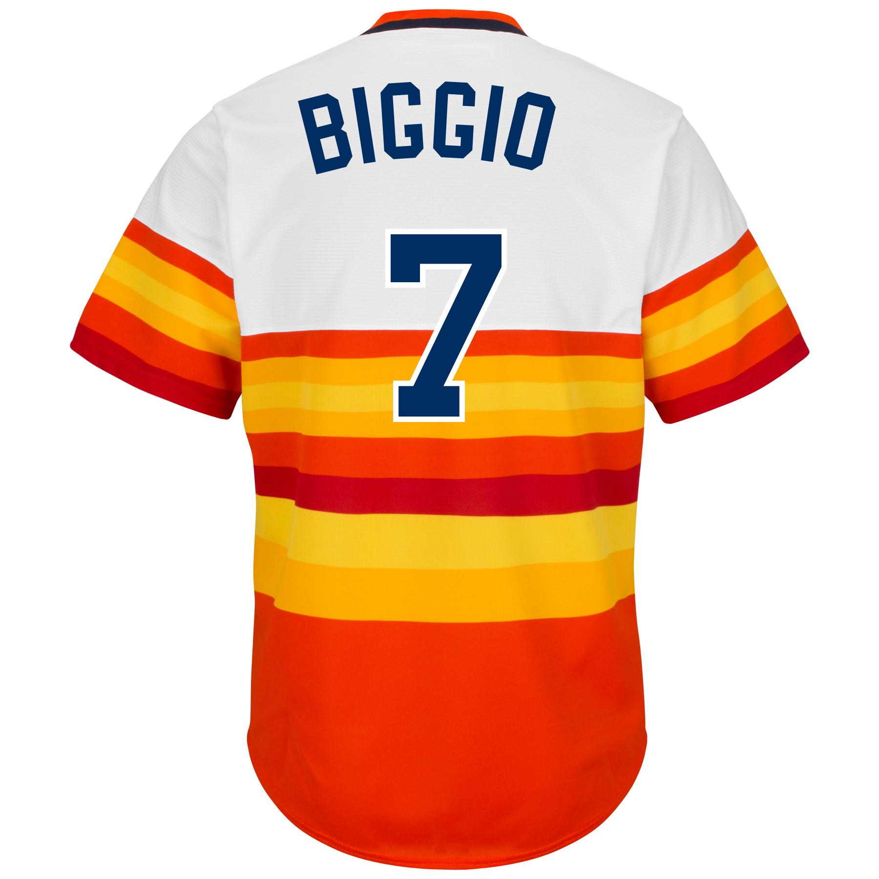 wholesale dealer 612c0 3f44b Houston Astros Craig Biggio #7