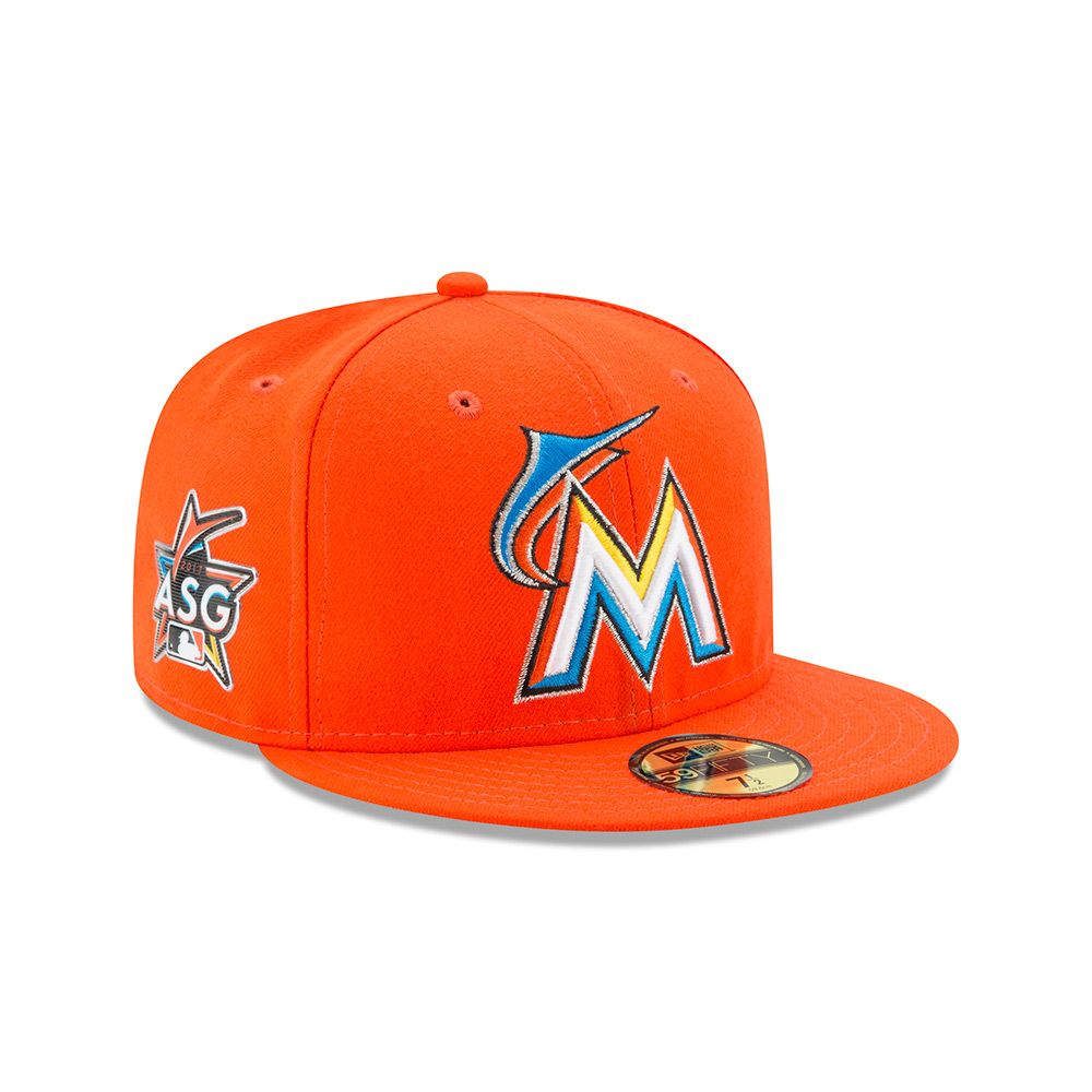 902554c65d43f Miami Marlins (Road) Hat - Mickey s Place