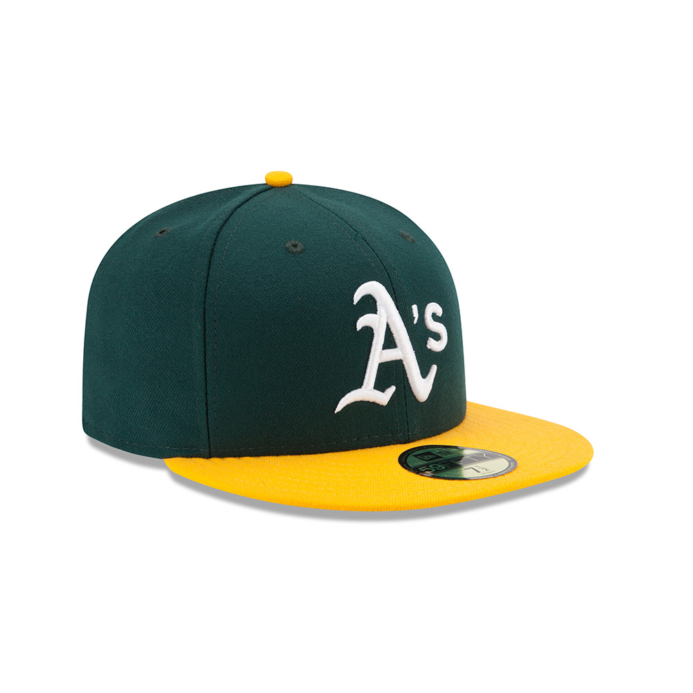 Oakland Athletics (Home) Hat - Mickey s Place 50551823d3d