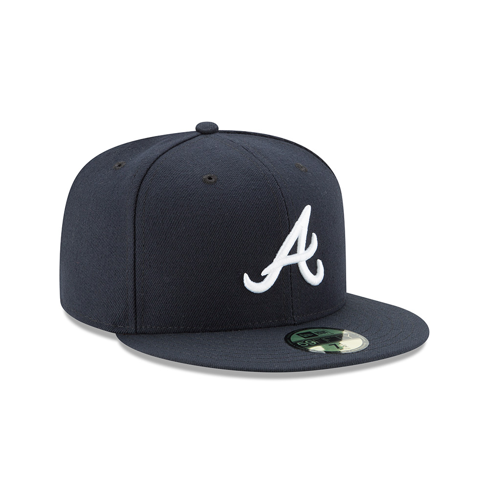 purchase cheap f32f1 22458 Atlanta Braves (Road) Hat - Mickey s Place