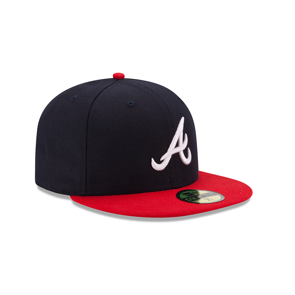 96ed3ee420c Atlanta Braves (Home) Hat - Mickey s Place