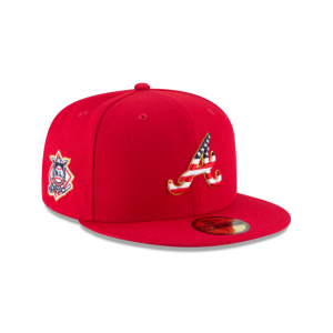 Atlanta Braves 2018 July 4th Hat