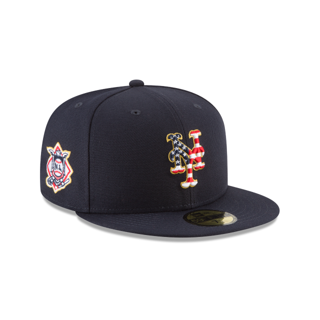 345deaea3e61e6 New York Mets 2018 July 4th Hat - Mickey's Place