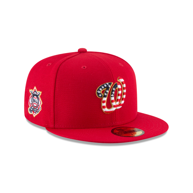 buy online ef8a9 59296 Washington Nationals 2018 July 4th Hat - Mickey s Place