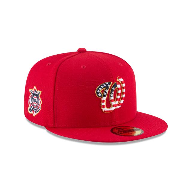 Washington Nationals 2018 July 4th Hat - Mickey s Place 043b88255f2e