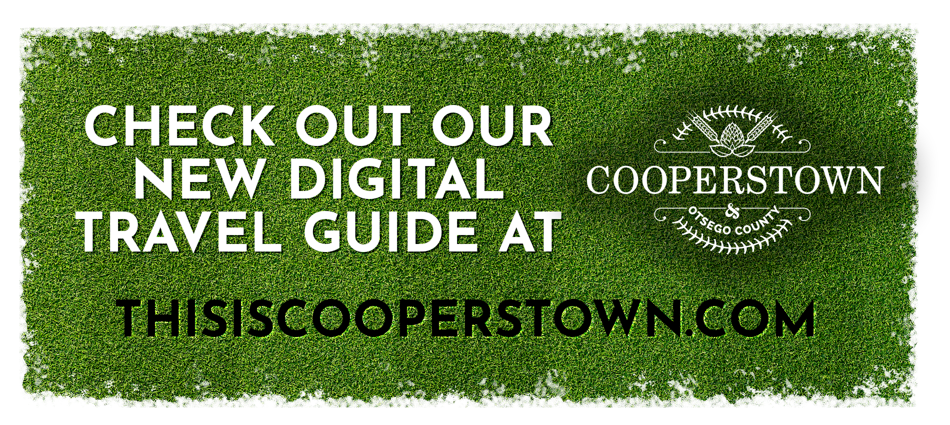 Travel Guide. This is Cooperstown